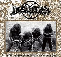 Insulter - Blood Spits, Violences and Insults [CD]