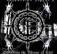 Carpathian Forest - Defending the throne [CD]