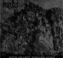 Mgla - With Hearts Toward None [CD]