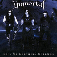 Immortal - Sons of northern darkness [CD+DVD]