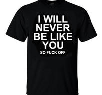 I Will Never Be Like You [TS]