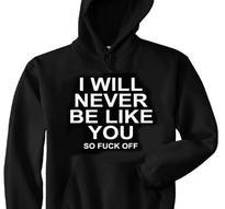 I Will Never Be Like You [Hood]