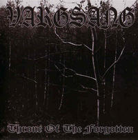Vargsang - Throne of the Forgotten [CD]