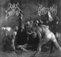 Hills of Sefiroth/Sapthuran - Split: Heralding the New Song of Ruin [CD]