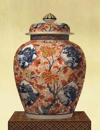 Unknown - Oriental Blue Vase III
