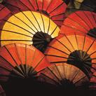 Alfred Becker - Japanese Parasol