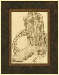 Jennifer Goldberger - Sepia Boots I (HI)