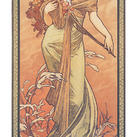 Alphonse Mucha - Printemps, 1900