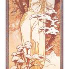 Alphonse Mucha - Hiver, 1900