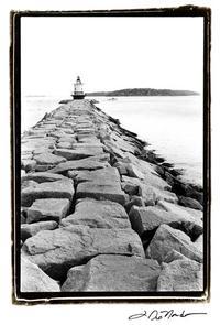 Laura DeNardo - Spring Point Light, Maine II