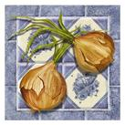 Abby White - Onion Tile