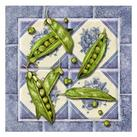 Abby White - Peas Tile