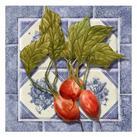 Abby White - Radishes Tile