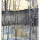 Jennifer Goldberger - Embellished Nouveau Landscape II
