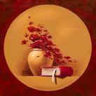 Bernadette TRIKI - Bouquet de fleurs II - 10 st