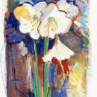 Else Uhlmann - White Lilies