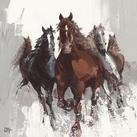Bernard Ott - Les chevaux II