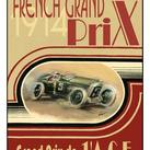 Ethan Harper - Printed French Grand Prix 1914