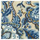 Chariklia Zarris - Custom Indigo Tapestry II