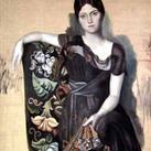 Pablo Picasso - Portrait of Olga, 1917