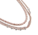 Pearls for Girls halsband rose, längd 75 cm