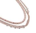 Pearls for Girls halsband rose, längd 75 cm