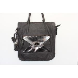 QNUZ väska, mörkgrå