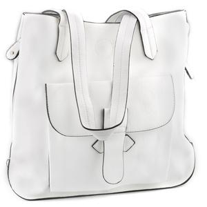 QNUZ väska, vit, 2-i-en
