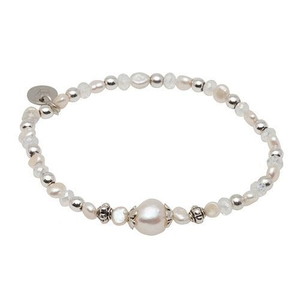 Pearls for Girls halsband och armband, set lila