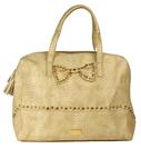Friis & Company väska, Paris gul/beige