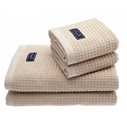 Newport Collection Handdukar, 4-PACK 2 st 30x50 + 2 st 70x140 cm beige