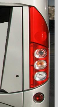 Baklykta passar Volvo 9700