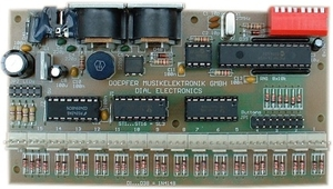 DIAL ELECTRONIC BOARD