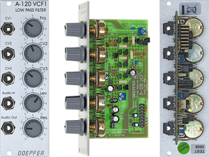 A120 24dB LOW PASS FILTER MOOG
