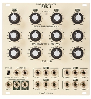 CWEJMAN RES4 - QUAD RESONANCE FILTER