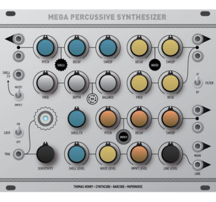 MEGA PERCUSSION SYNTHESIZER