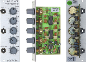 A125 VOLTAGE CONTROLLED PHASE SHIFTER