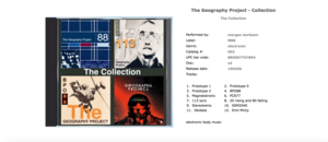 THE GEOGRAPHY PROJECT - THE COLLECTION
