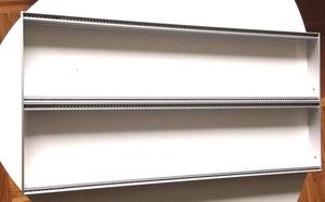 GLIMM EURORACK FRONT FRAME 2x 84HP/104HP
