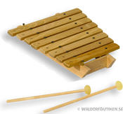 Xylofon Diatonisk 8 toner