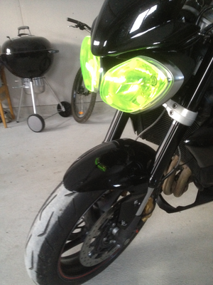 MC SAFE glas till Triumph Triple 2013-