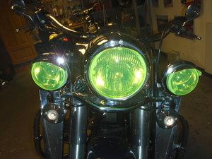 MC SAFE glas HD för 2 positionsljus + huvudlampa