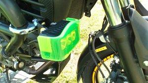 Positionsljus inkl gult säkerhetsglas, ej godkänd för användning i Sverige