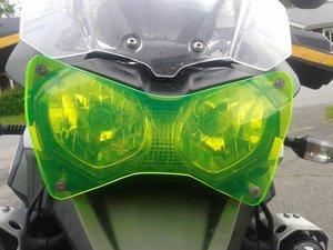 MC SAFE glas till Triumph 1200 Explore och Tiger m fäste