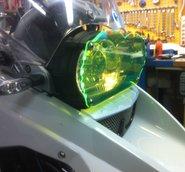 MC SAFE glas till R1200GS & GSA till Wünderlich fäste