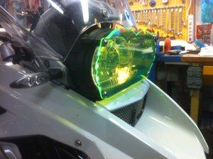 MC SAFE glas till R1200GS & GSA till BMW snabbfäste