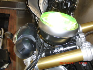 BMW R 9 T T Urban Runt gult glas
