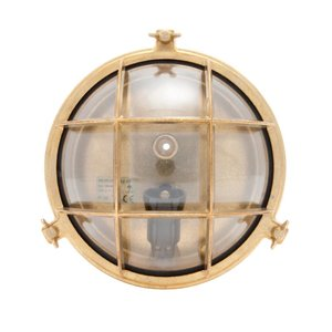 Stockholm brass E14 clear glass
