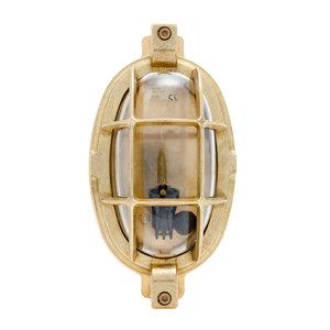 Arken brass 40W E14 clear glass