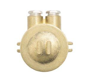 Junction box - 4-pol plint - 4 outlets (=O=)